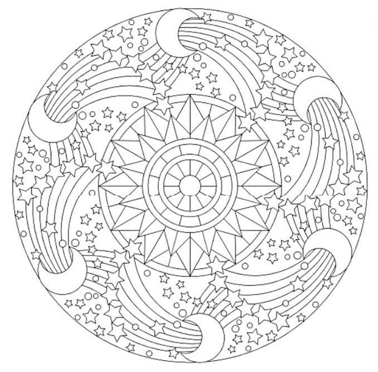17 Best images about Mandalas on Pinterest Coloring