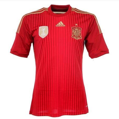 Spain World Cup Home Football Shirts