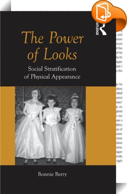 The Power of Looks    :  There is a saying that beauty is in the eye of the beholder, implying that beauty is subjective. But can it be said that 'better looking' people have more social power? This book provides a fascinating insight into the social stratification of people based on looks - the artificial placement of people into greater and lesser power strata based on physical appearance.  The author analyzes different aspects of physical appearance such as faces, breasts, eye shape...