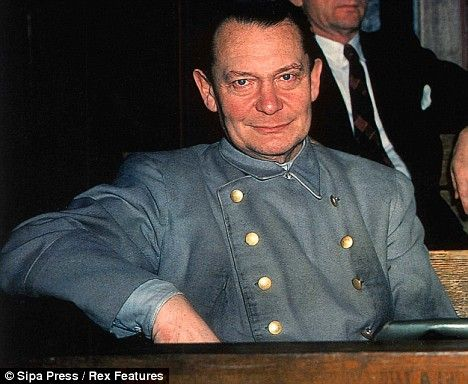 Goering? I knocked him off his perch: How a British lawyer turned the tables on Nazi 'fat boy' at the Nuremberg trials