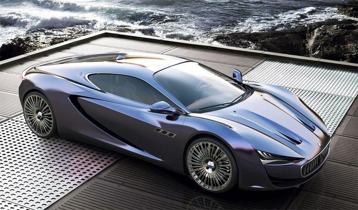 Maserati Bora Concept 2013 by Alex Imnadze