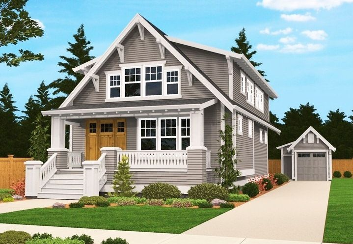 Craftsman house plans vintage dream home pinterest for Old style craftsman house plans
