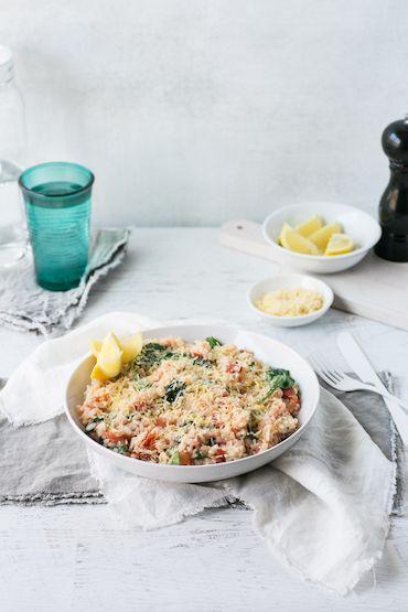 Bacon, Spinach and Tomato Rissotto LR-2053