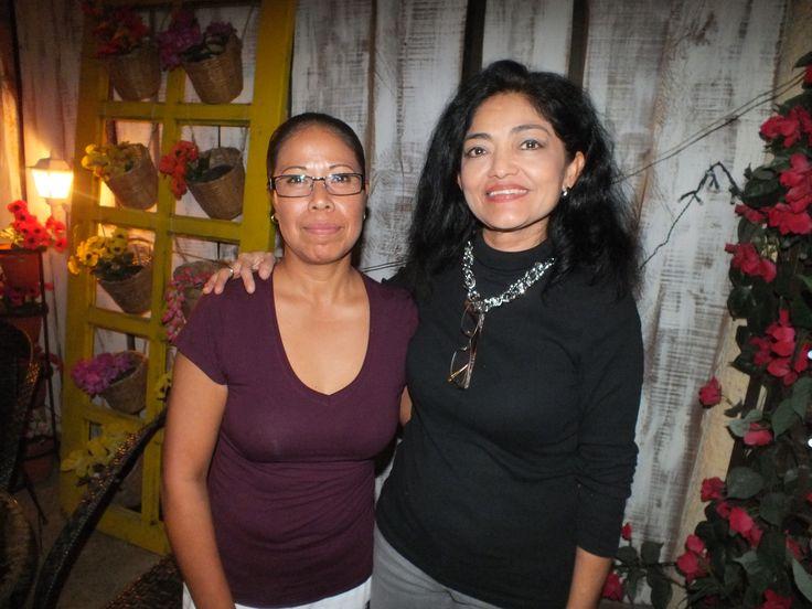 Alma de la Rosa y Tere Maldonado