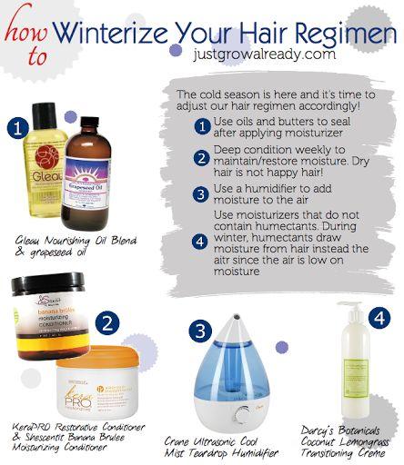 How To Winterize Your Hair Regimen   Hair regimen and