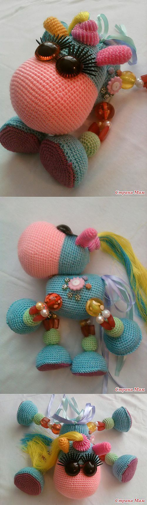 131 Best images about unicornio amigurumi on Pinterest ...