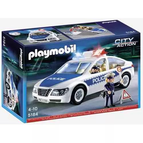 Playmobil 5184 Action City Auto De Policia - $ 1.899,99