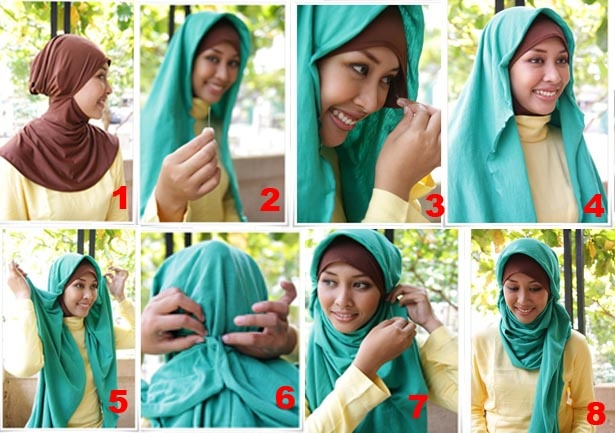 hijab tutorial : either using pashmina or square hijab