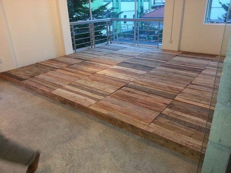 best 20 pallet floors ideas on pinterest wood pallet flooring pallet projects instructions. Black Bedroom Furniture Sets. Home Design Ideas