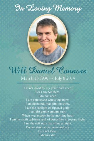 17 Best ideas about Memorial Cards on Pinterest | Sympathy cards ...