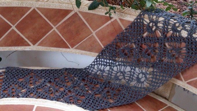 #DIY Bufanda de calaveras a ganchillo con Katia Kiss por @puntodemedia
