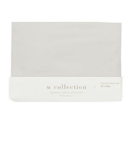 Egyptian Cotton Plain Pillowcase | Woolworths.co.za