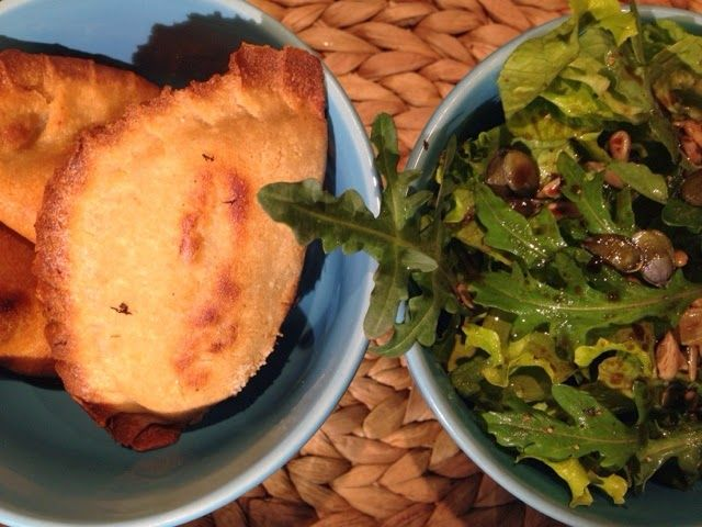 Patrícia is cooking.: Rissois de cogumelos e salpicão {Vegan, integral, ...