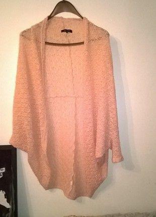 Kup mój przedmiot na #vintedpl http://www.vinted.pl/damska-odziez/dlugie-swetry/10809164-sweter-narzutka-pudrowy-roz-oversize-new-look