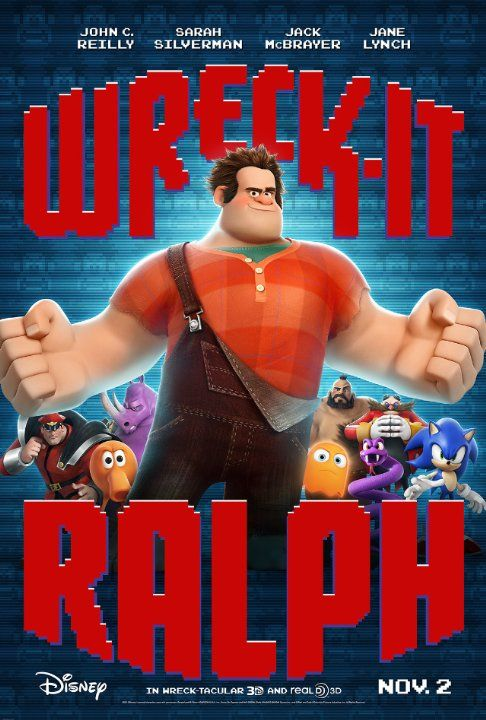 Wreck It Ralph - Ended up being much better than I expected it to be.