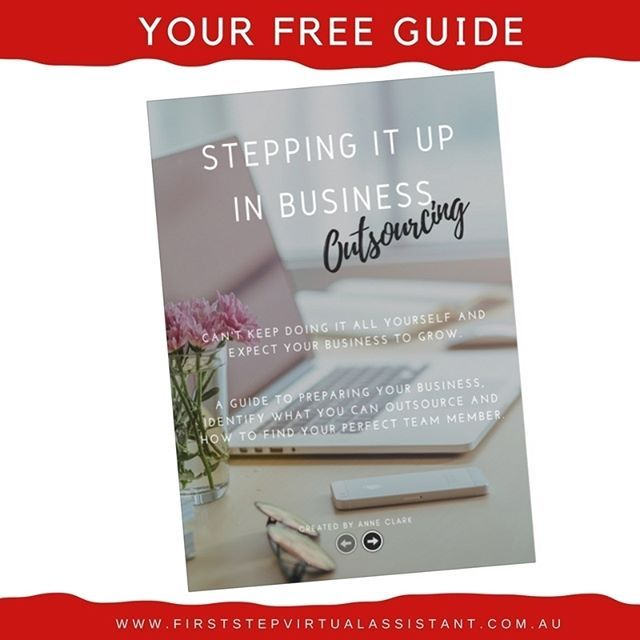 You can not expect your business to grow, if you're doing it all yourself. Your next step is to starting outsourcing, and putting your expertise solely where it needs to be! Grab my FREE guide on how to start preparng your business to outsourcing.  eepurl