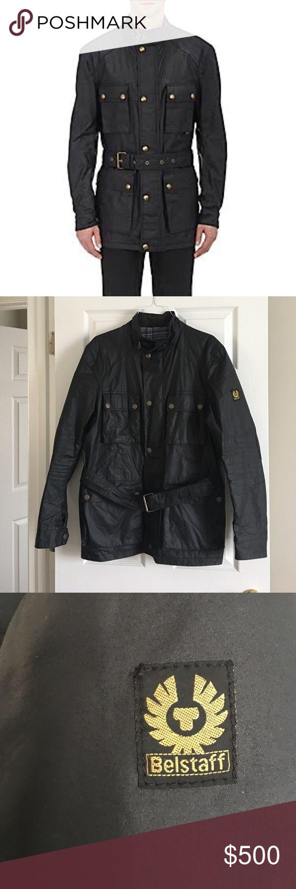 Belstaff Mens leather jacket Belstaff men's jacket. Fantastic condition! Basically brand new!!! Just no tags. Belstaff Jackets & Coats