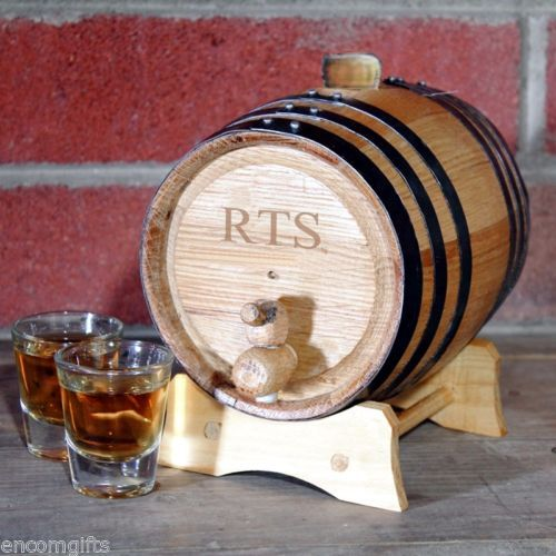 Personalized Mini Whiskey Barrel Wine Cask 2 Liter