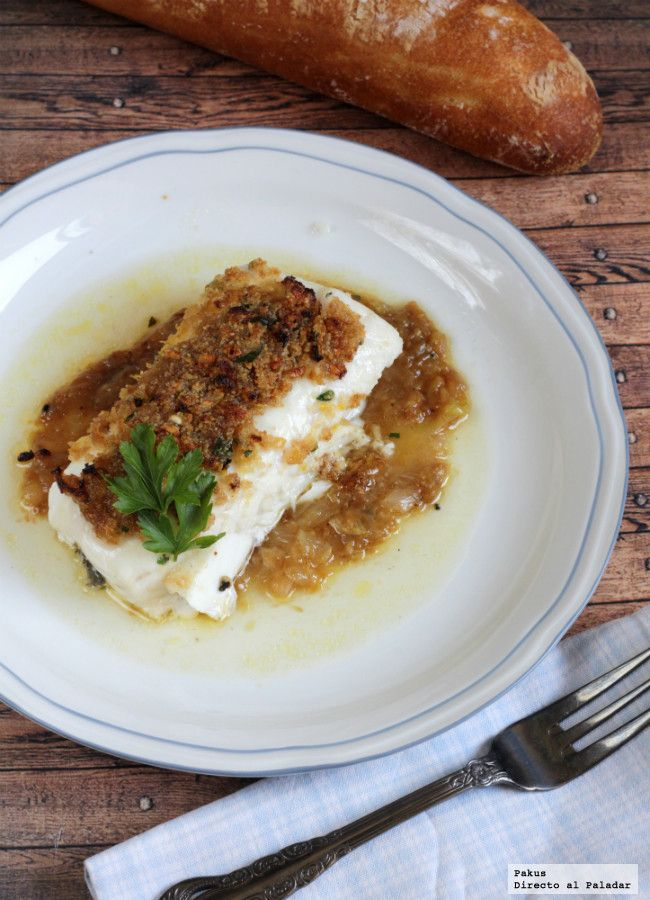 Me encanta el pescado y suelo buscar recetas para comerlo de mil y una formas. Hace tiempo un buen amigo me contó que preparaba esta receta y ten�...