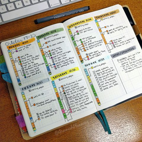 Use the bullet journal to stay sane as a student in school – Jady @greenishplanning walks us through how she uses the bullet journal to balance her school and professional commitments.