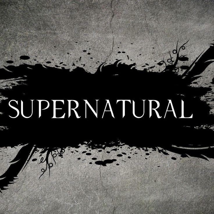 TV Series Logos | Supernatural Tv Series Logo