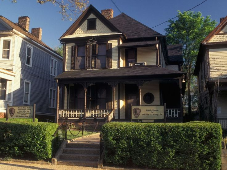 The Martin Luther King Jr. Historical Site is right around the corner from some of The Living Wall murals. Here you can take a guided tour of his birth home (pictured), as well as the Ebenezer Baptist Church where he preached. The site is also home to Dr. King's tomb, where he is interred along with his wife, Coretta Scott King. (450 Auburn Ave. NE; 404-331-5190)