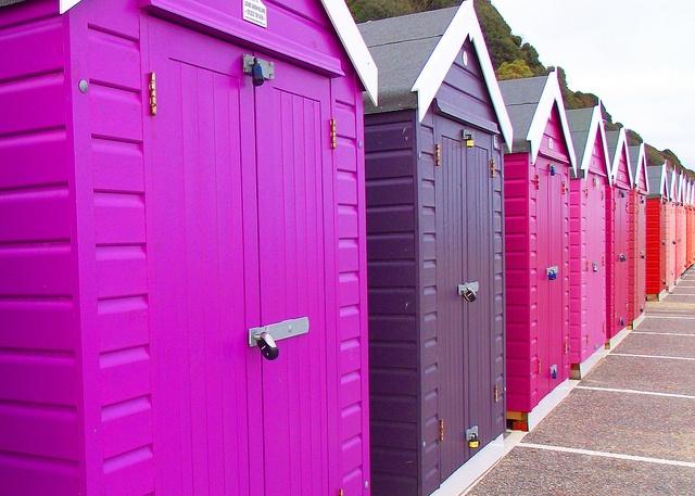 Bournemouth Beach Huts. :)