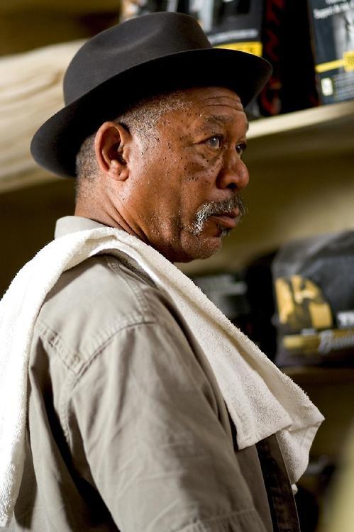 Morgan Freeman in Million Dollar Baby