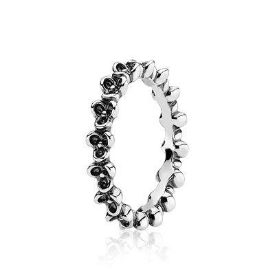 Rings: Precious Metals and Beautiful Pandora Gemstone Rings | PANDORA  $40  I love the flowers!