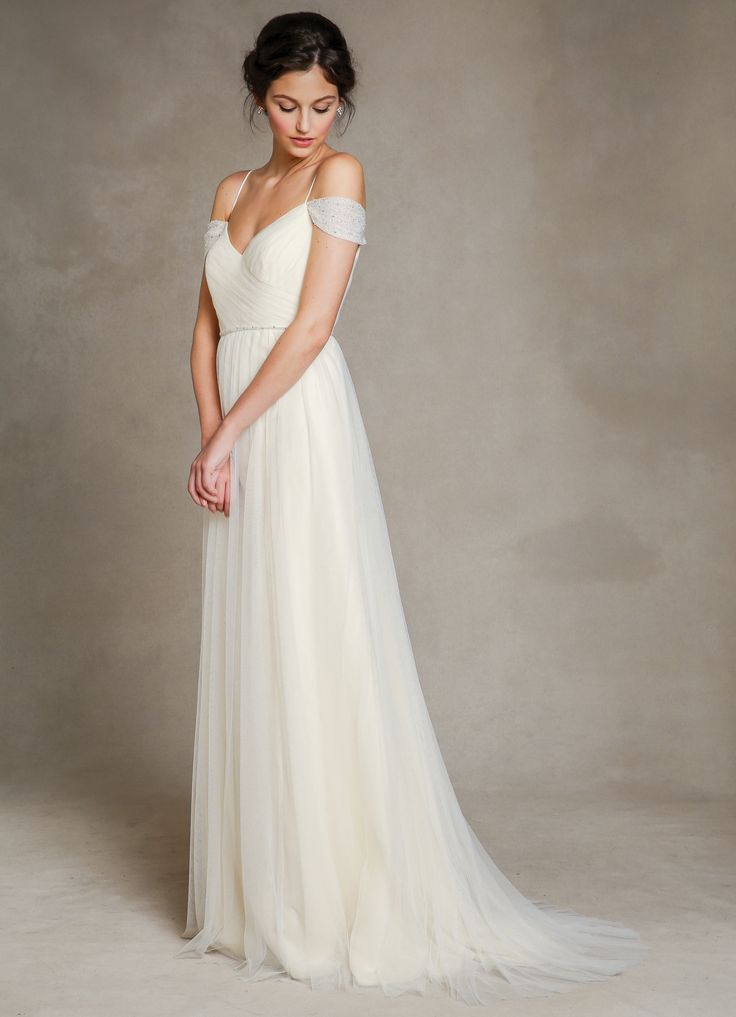 Fresh  jennyyoo Mia wedding dress is an affordable option that us perfect for a bride who us looking