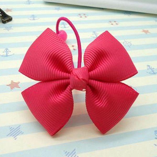 儿童发绳 手工螺纹丝带 女童发圈 项圈 发绳 多款多色 批发价