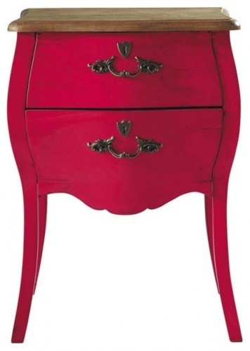 Haute Couture Pink Nightstand - traditional - nightstands and bedside tables - Maisons du MondeDesign Ideas, Room Decor, Couture Pink, Pink Nightstand, Bedside Tables, Night Stands, Bedrooms Ideas, Traditional Nightstand, Haute Couture