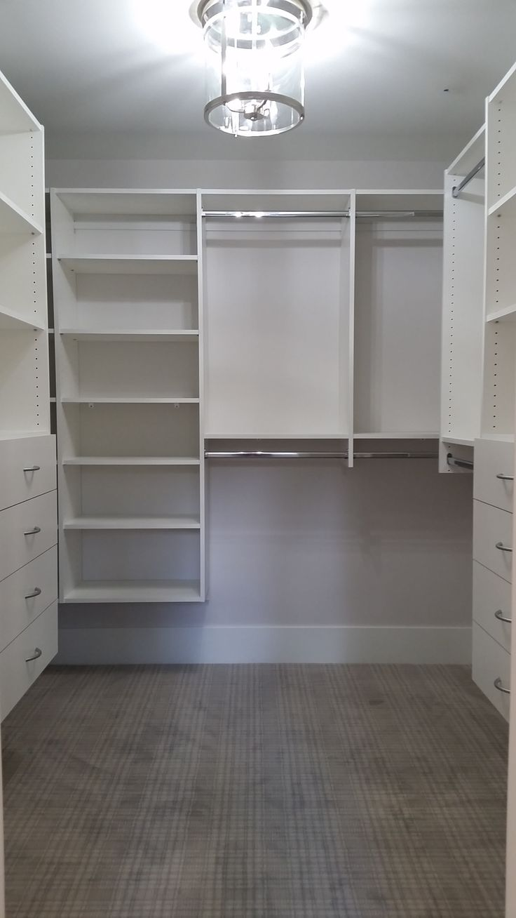 Attractive Custom Walk In Closet By Closets For Life. Lighting Can Do More Than Add