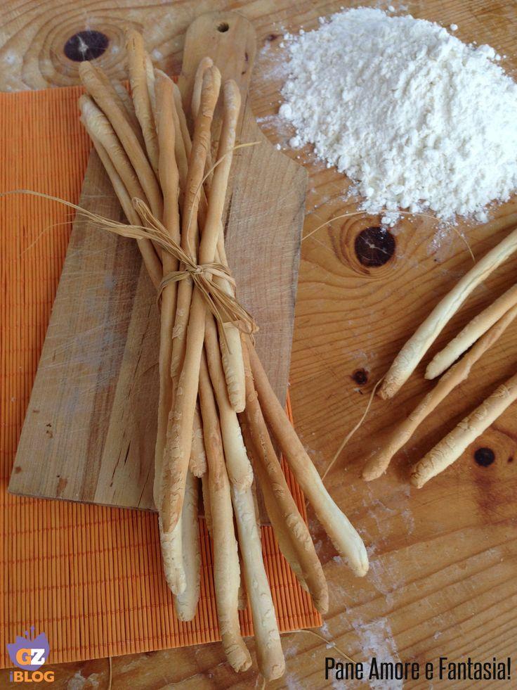 Grissini torinesi stirati - ricetta tradizionale