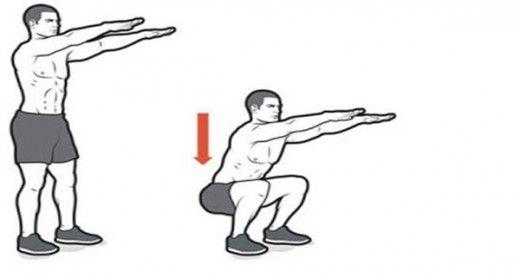 Быстрый метод потери веса: сжигаем 100 килокалорий всего за 4 минуты!