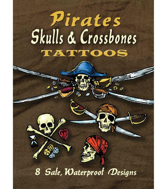 Dover Publications-Pirates Skulls