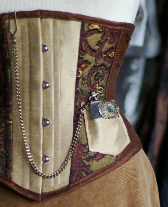 Love the pocket! This one makes me think of @Marissa McGrath and @Sara Galactica... Clockwork Couture waist cincher.