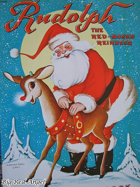 : Books Rudolph, Santa Vintage Cards, Paper Dolls, Dolls Society, Dolls Christmas, Red Angel, Reindeer Books, Coloring Books