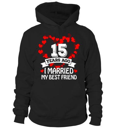 15th Wedding Anniversary Gift Ideas Husband And Wife T Shir Tshirts For Men Trophy Tshirt My Funny