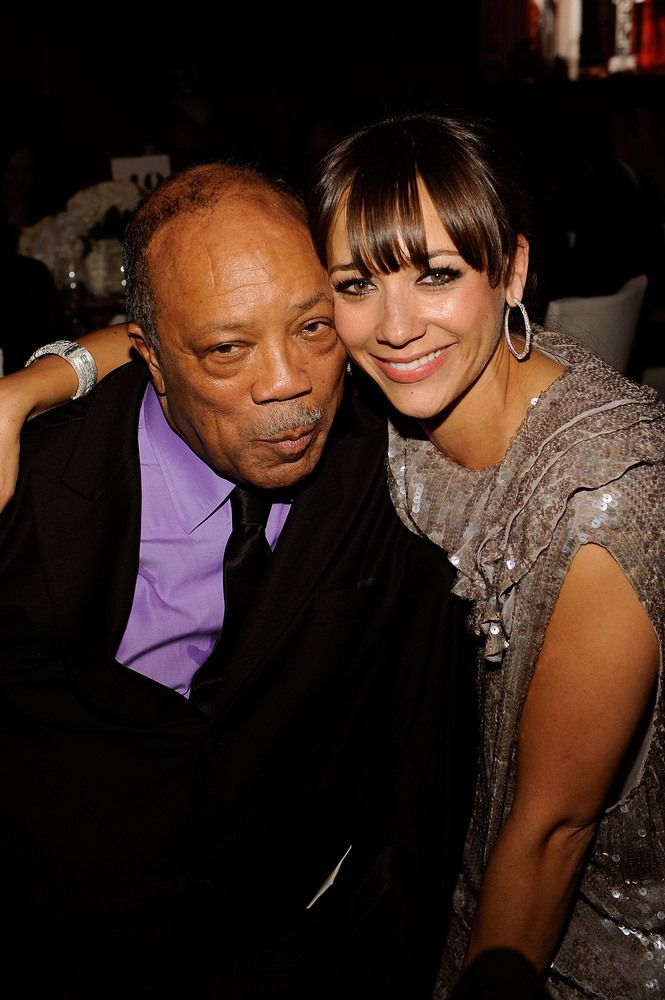 FATHER AND DAUGHTER  Rashida, the daughter of music producer Quincy Jones, has made quite a name for herself in Hollywood.