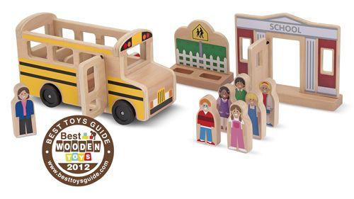 Love Melissa & Doug wooden toys. Terrific Twenty List and Giveaway