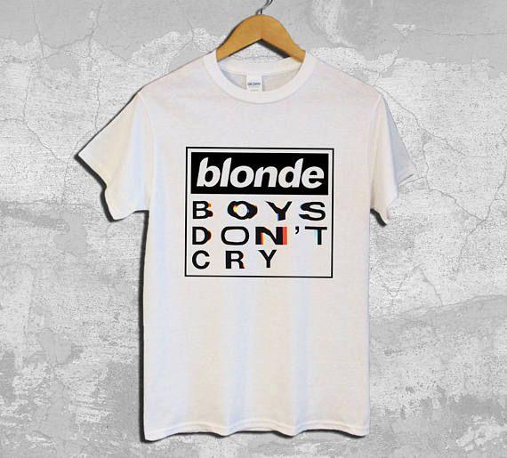 Blonde Boys Don't Cry Tour Tshirt Frank Ocean Music