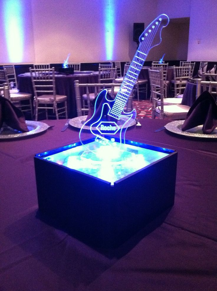 guitar centerpiece - Google Search | 2016 Care for Kids ...