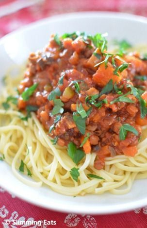 Lentil Bolognese. I think I will use this for my lentils! :D nice, cheap and tasty!! (and healty!!)
