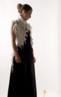 PERSÉPHONE, laine mérinos (interventions manuelles sur machine à tricoter)