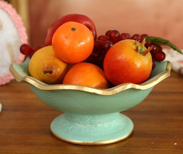 Творчески Европейский люкс керамические конфеты блюда сушат фрукты гостиная украшения дома свадебные подарки