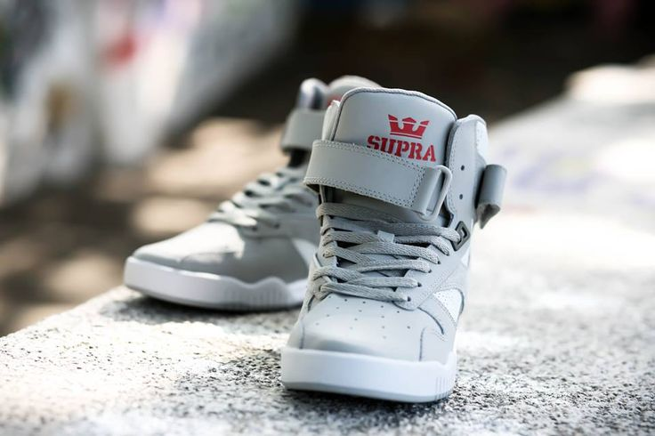 Grey BLEEKER from Supra Footwear available now.