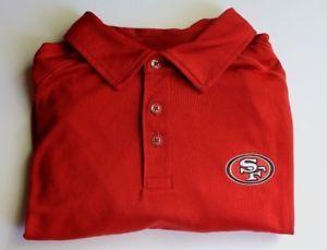 Tommy Bahama NFL San Francisco 49ers Polo Short Sleeve Shirt Red Men s XL 11f1c7b4b