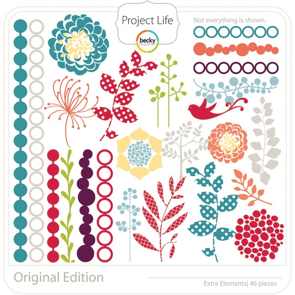 Project life: 4 99 Originals, Project Life, Gorgeous Originals, Website, Blog, Projects Life, Spices, Originals Collection, Embellishments