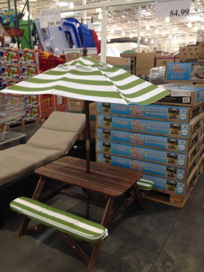 costco kids picnic table $84